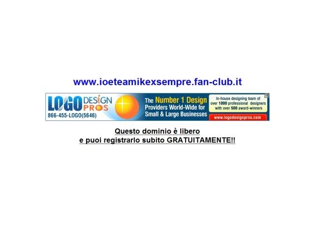 Anteprima www.ioeteamikexsempre.fan-club.it