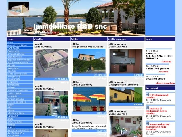 Anteprima www.immobiliare-rb.it