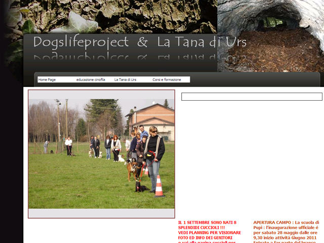 Anteprima www.dogslifeproject.it