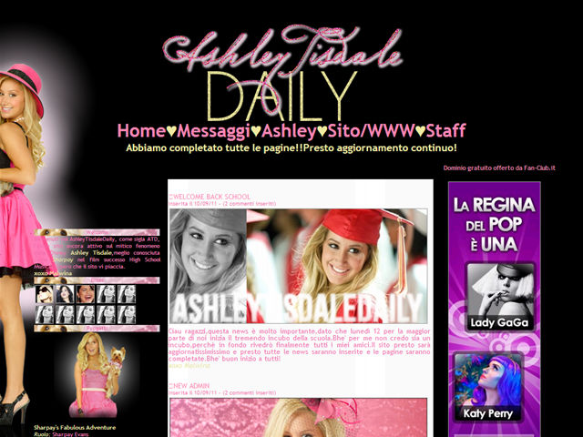 Anteprima www.ashleytisdaledaily.fan-club.it