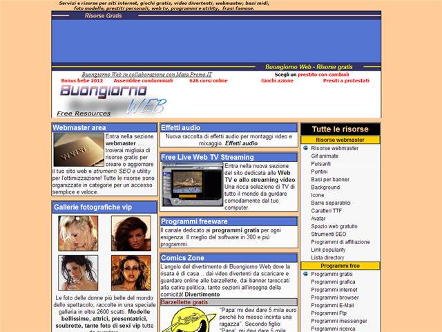Buongiorno Web Foto Vip.Sito Www Buongiornoweb Com Tra I Siti Del Web
