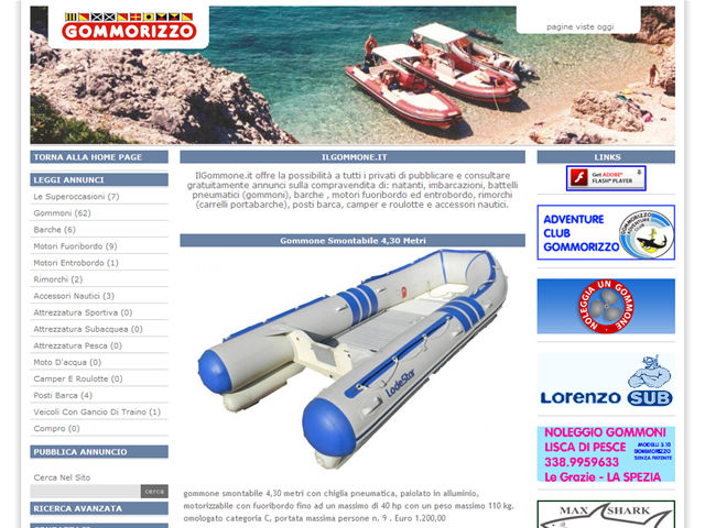 Anteprima www.ilgommone.it
