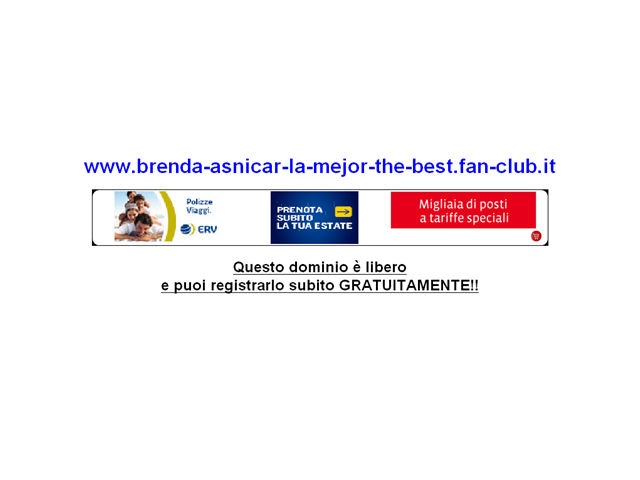 Anteprima www.brenda-asnicar-la-mejor-the-best.fan-club.it