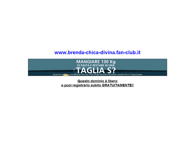 Anteprima www.brenda-chica-divina.fan-club.it