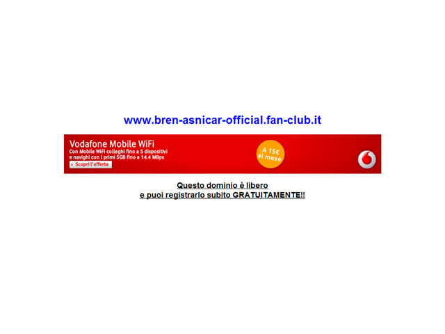Anteprima www.bren-asnicar-official.fan-club.it