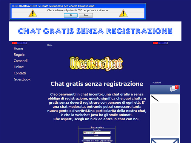 Anteprima chat-incontro.it.gg