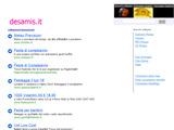 Anteprima www.desamis.it