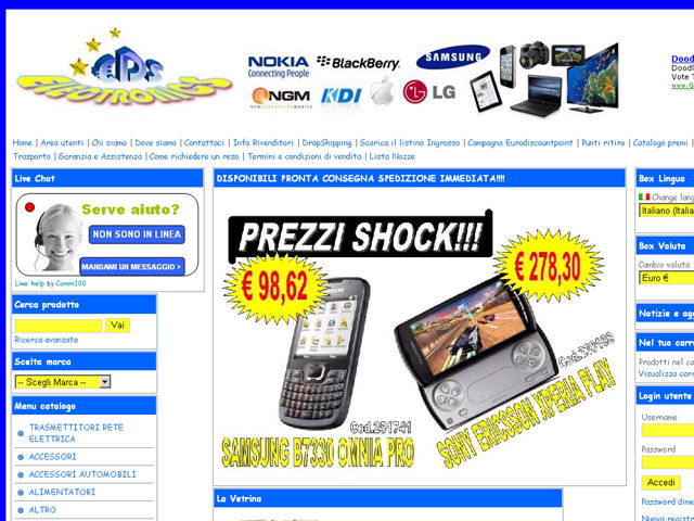 Anteprima www.eurodiscountshop.it