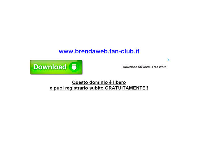Anteprima www.brendaweb.fan-club.it