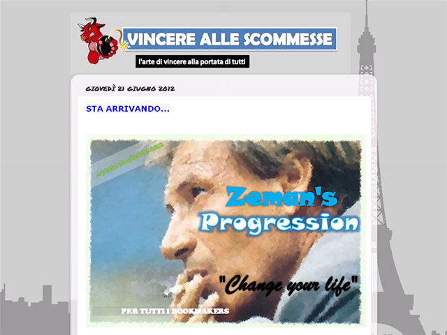 Anteprima vincerescommesse.blogspot.it