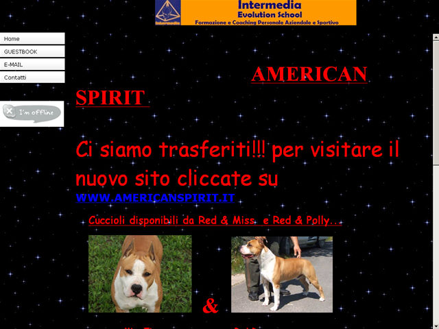 Anteprima www.americanspirit.beepworld.it