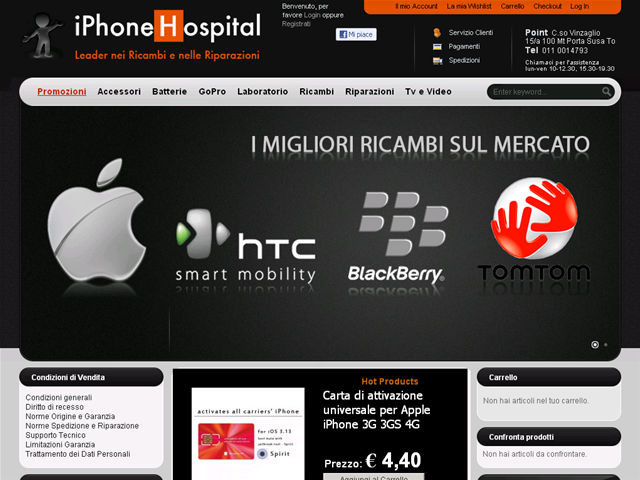 Anteprima www.iphonehospital.it