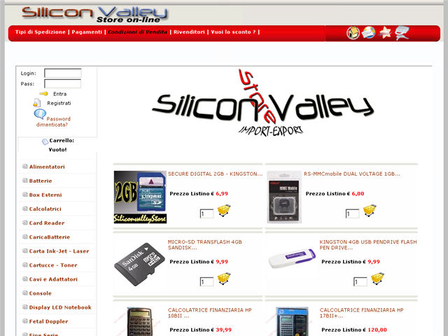 Anteprima www.siliconvalleystore.it