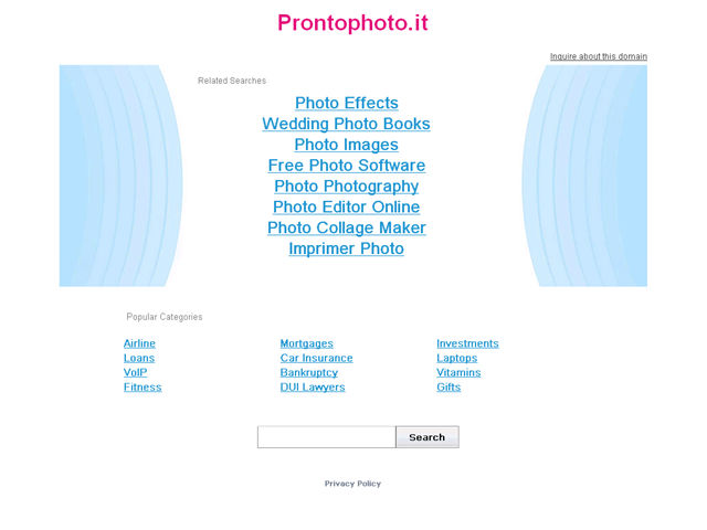 Anteprima www.prontophoto.it