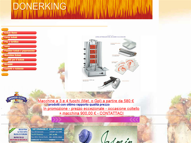 Anteprima www.donerking.it