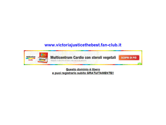 Anteprima www.victoriajusticethebest.fan-club.it