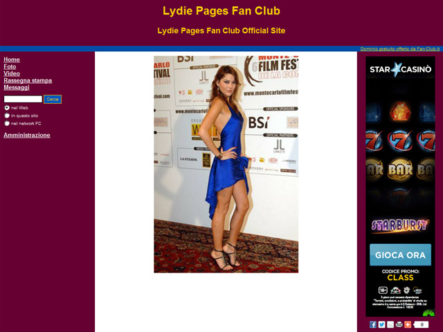 Anteprima www.lydiepages.fan-club.it