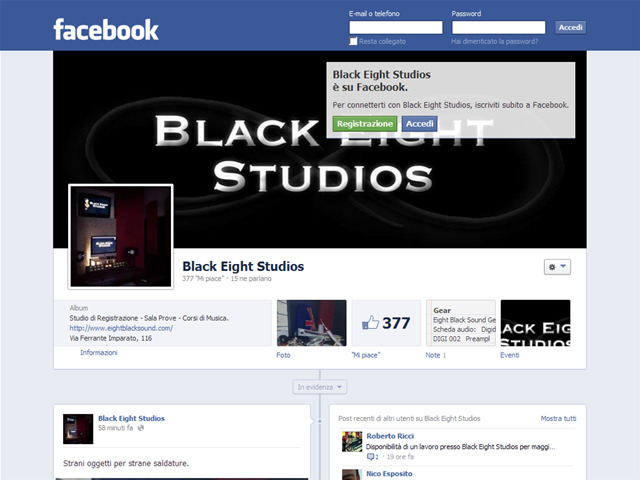 Anteprima www.facebook.com/pages/black-eight-studios/177610132309526