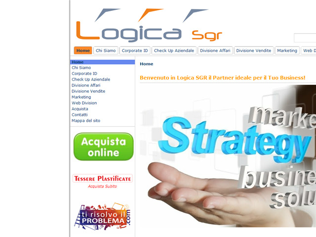 Anteprima www.logicasgr.it