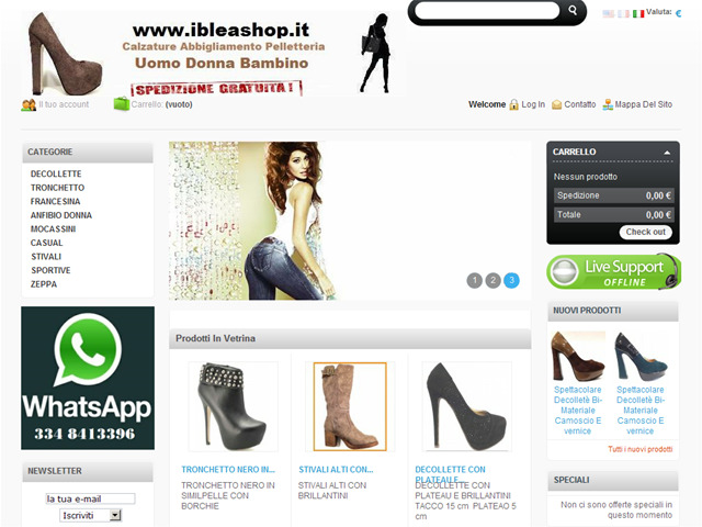 Anteprima www.ibleashop.it