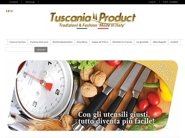 Anteprima www.tuscaniaproduct.it
