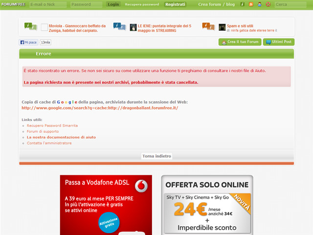 Anteprima dragonballant.forumfree.net