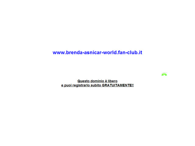 Anteprima www.brenda-asnicar-world.fan-club.it