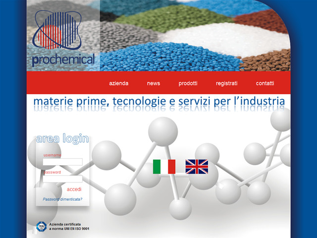 Anteprima www.prochemical.it