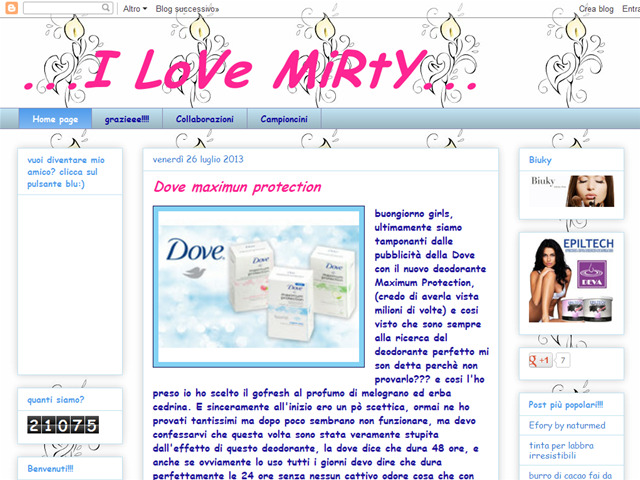 Anteprima ilovemirty.blogspot.it