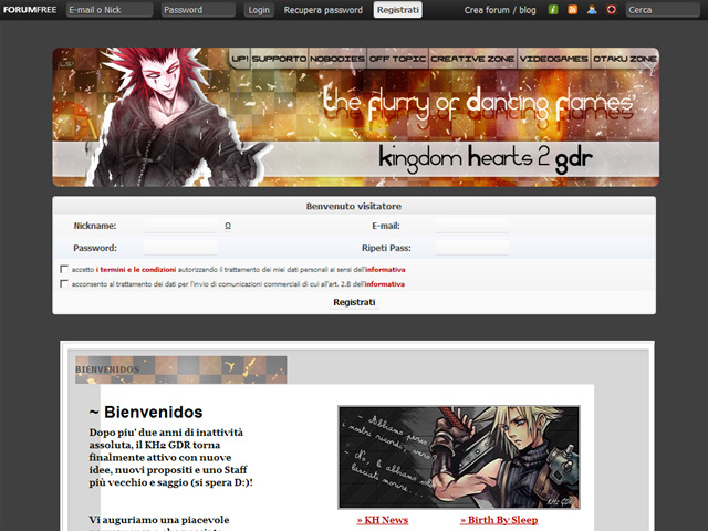Anteprima kingdomhearts2gdr.forumfree.it