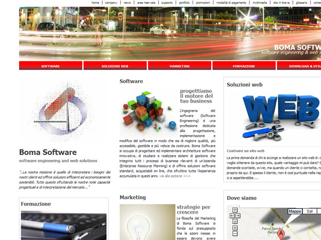 Anteprima www.bomasoftware.it