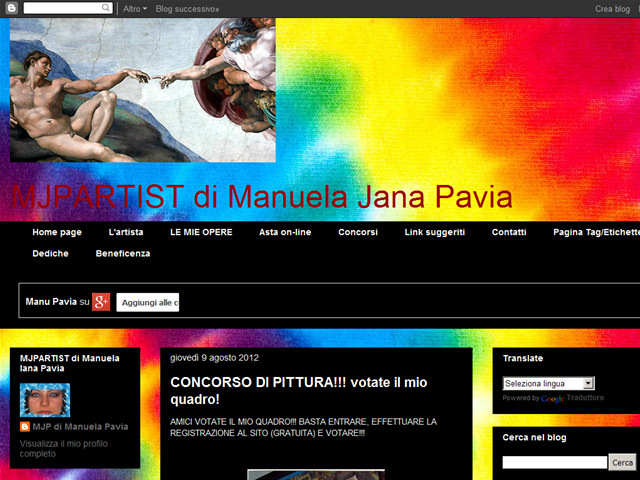 Anteprima mjpartist.blogspot.it