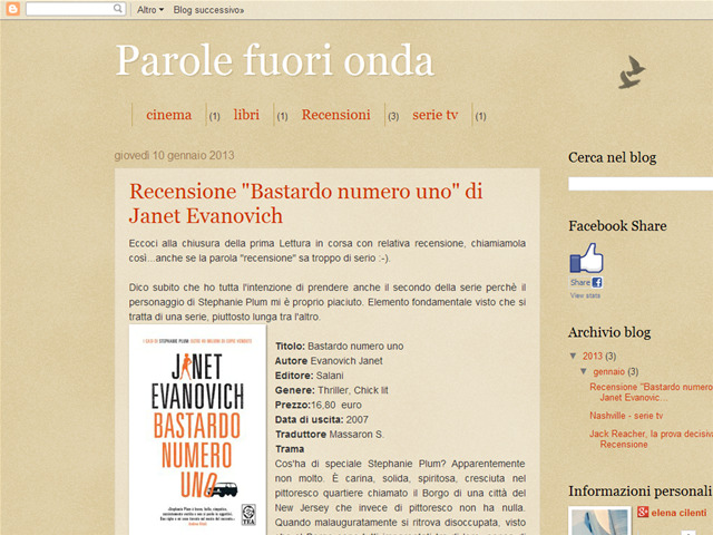 Anteprima parolefuorionda.blogspot.it