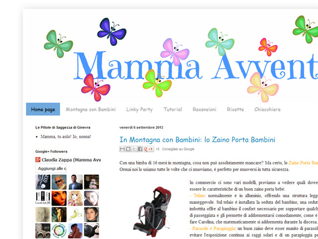 Anteprima mammaavventura.blogspot.it