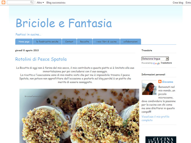 Anteprima bricioleefantasia.blogspot.it