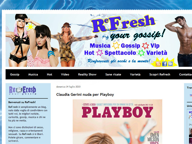 Anteprima refreshyourgossip.blogspot.it