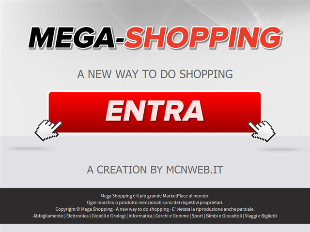 Anteprima www.mega-shopping.it