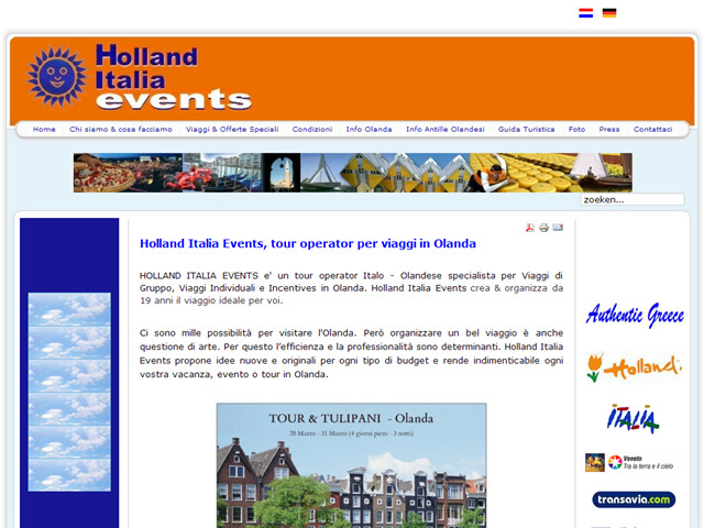 Anteprima www.hollanditaliaevents.it