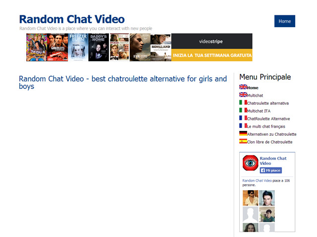 Anteprima randomchatvideo.net