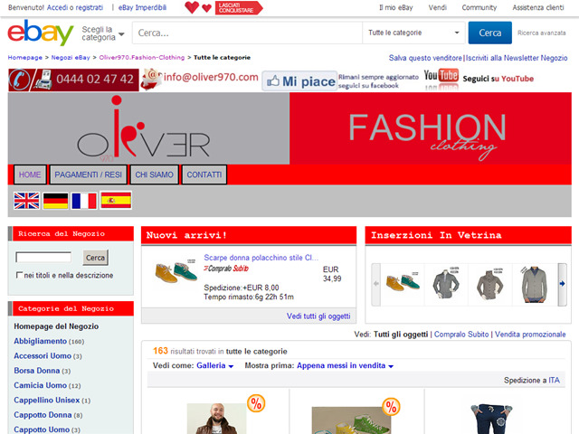 Anteprima stores.ebay.it/oliver970-fashion-clothing