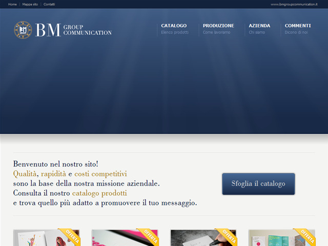 Anteprima www.bmgroupcommunication.it