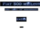 Anteprima www.fiat500mylove.it