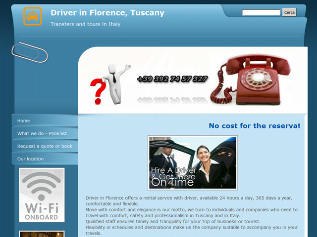 Anteprima www.driverinflorence.it