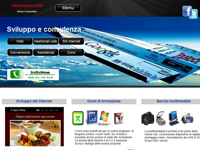 Anteprima webconsulting.altervista.org