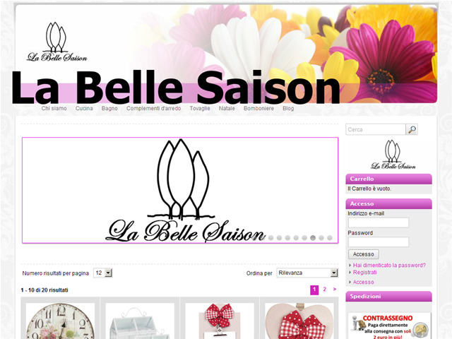 Anteprima www.labellesaison.it