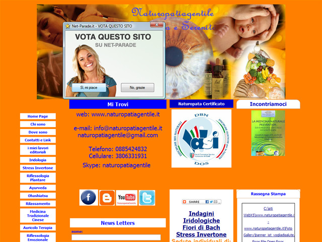 Anteprima www.naturopatiagentile.it