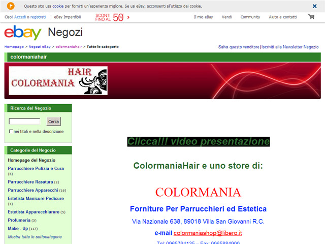 Anteprima stores.ebay.it/colormaniahair