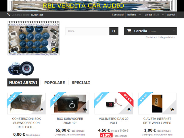 Anteprima rbl-vendita-car-audio.pswebshop.com/it