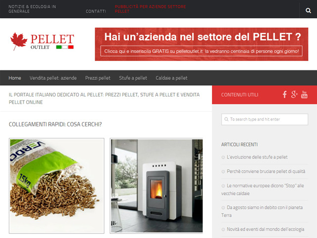 Anteprima www.pelletoutlet.it