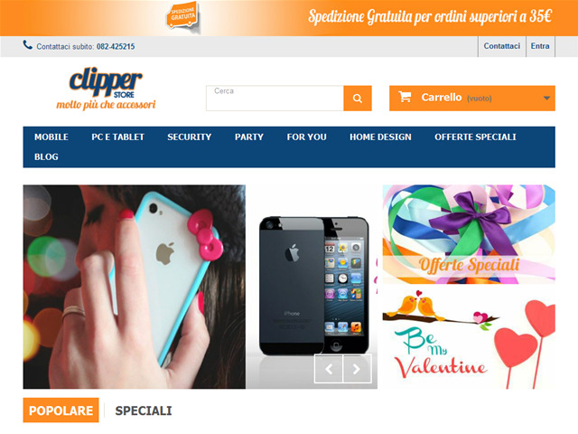 Anteprima clipperstore.it